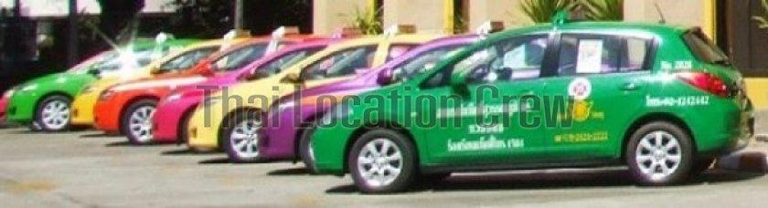 タクシーのメーター運賃料金について (タイ)